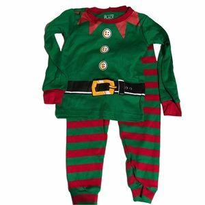 Children's Place Infant Elf Pajama Set 12/18 month